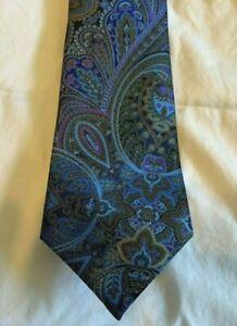 $295 New ERMENEGILDO ZEGNA Tie Rare QUINDICI Made in Italy