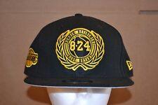 28134167bc9 Kobe Bryant New Era Lakers 8 24 Jersey Retirement Ceremony Cap Hat Snapback  New!
