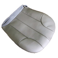 01-03 Jeep Grand Cherokee 3,7L-4.0L  GAS  Driver Bottom Leather Seat cover GRAY