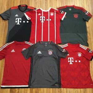 $400 Vtg Lot 6 Adidas 10 Bayern Munchen Soccer Jerseys Sm Home Away Germany