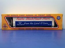 "HO Scale ""Rath's Black Hawk Ham"" RPRX 208 Forty Foot Freight Train / Mehano"