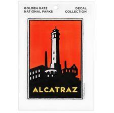 Alcatraz Decal (Large) - Golden Gate National Parks Conservancy San Francisco CA