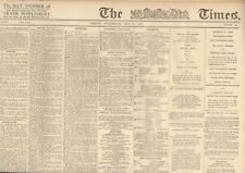 ORIGINAL TIMES NEWSPAPER 3rd MAY 1916: ,THE EASTER RISING VERY RARE PUBLICATION
