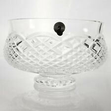 """Waterford Clear Crystal footed bowl friut candy 7"""""""