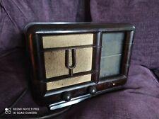 Poste de radio vintage bakelite DUCRETET THOMSON D.2205