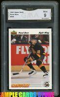 1991 Upper Deck #555 Pavel Bure RC GMA 9 MINT  = PSA 9? Canucks Rookie Card