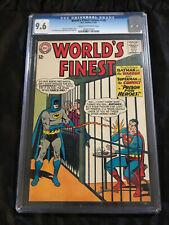 DC Comics World's Finest Comics #145 CGC 9.6 NM+ Batman Alien Prison Warden!