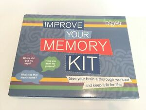 Readers Digest - Improve your memory kit Brand New Sealed