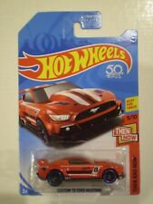 HOT WHEELS 2018 Then and Now *CUSTOM '15 FORD MUSTANG* red