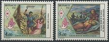 1990 MONACO N°1720/1721** CROIX ROUGE  , RED CROSS COMPLETE SET MNH