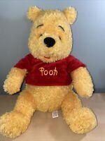 "Disney Parks Winnie the Pooh Plush 14"" Genuine Original Authentic Soft Plush Toy"