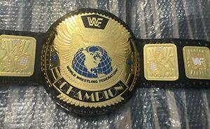 ST WWF World Wrestling Federation Champion Title Belt Big Eagle Adult 4mm Brass