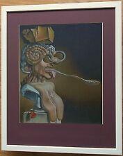 Dali print - Picasso Portrait - 20''x16'', Salvador Dali print, Abstract print