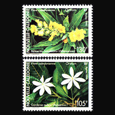 New Caledonia 1990 - Flowers Flora - Sc 638/9 MNH