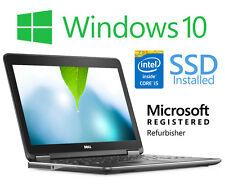 """Dell Latitude E7240 12.5"""" Laptop Intel i5 4GB RAM 128GB SSD Windows 10 HDMI"""