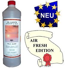 1000 ml Duft WILD MUSK MOSCHUS Lampenöl Lampoil Brenner Katalysator Duftlampe