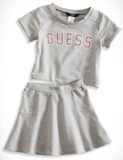 Guess Girls' Sweatshirt and Skirt Set, GGO07856A, Gray Heather, Size S(4), $42.5