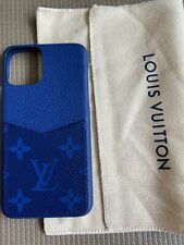 100% Authentic Louis Vuitton Taigarama Cobalt Blue Iphone 11 Pro Case/Bumper