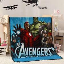 Kids Soft Mink Blanket Flannel Fabric Plush Quilt 1 x 1.4 Meter Avenger