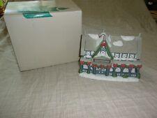 Partylite Candle Shop Village House P0266 Windows Christmas Wreath