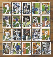 2021 Topps Series 1 LOS ANGELES DODGERS COMPLETE BASE TEAM SET w/ RC (20 Cards)