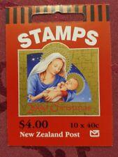 Markenheftchen (MH) Neuseeland Weihnachten 2000 (10) postfrisch **