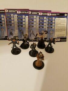 Star Wars Miniatures Yuuzhan Vong Shaper & Warrior Yuuzhan Vong Team Builder Lot