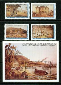 ANTIGUA   - 1984 – ABOLITION OF SLAVERY  – VF  **