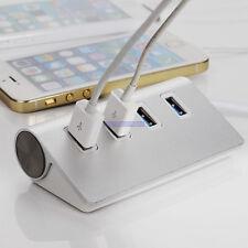 Super Speed 5Gbps 4-Port USB 3.0 Premium Aluminum Hub For iMac MacBook PC tablet