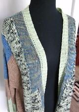 ETRO 3/4 SLEEVE SZ 48 IT/12 US Beautiful Multi Colored OPEN WEAVE Sweater/Jacket
