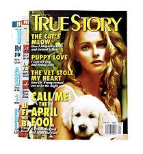 2012 True Story Magazines 3 months (April, September & November)