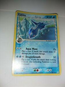 Latios Holo Foil Pokemon TCG Card EX Holon Phantoms 22/110 Light Play