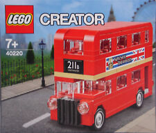 LEGO Promo Exclusiv 40220 London Bus Doppeldecker rot  NEW RAR NEU