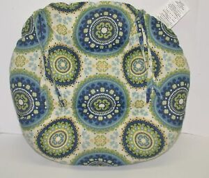 """Resort Spa Outdoor Patio Tufted Round Seat Pad ~ 19"""" Round x 3.5"""" Thick NEW"""