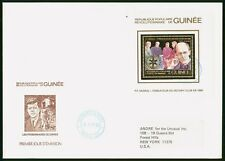 Mayfairstamps Guinea 1984 Rotary International Souvenir Sheet First Day Cover ww