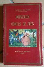 livre ancien nouveaux contes de fées comtesse de ségur histoire enfant au chevet