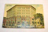 Antique Postcard from The Flanagan Hotel Malone, New York circa 1917 no Postmark