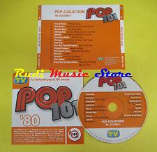 CD POP COLLECTION '80 VOL 1 compilation PROMO 2006 RICHIE TURNER WHAM (C7) no mc