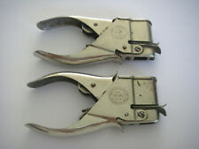 X2 lot de 2 pinces PAPER FASTENER BUMP USA LA CROSSE WIS / pour attacher papier