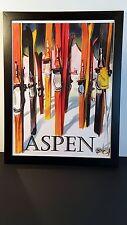 """Aspen Co. Ski Poster 18"""" x 24"""""""