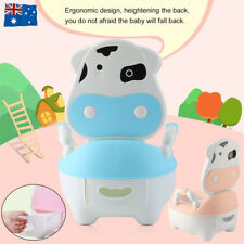 Safety Kids Baby Toilet Training Children Toddler Potty Trainer Seat Chair AU