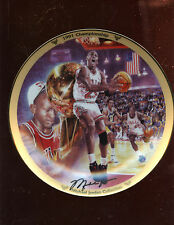 1991 Upper Deck Limited Edition Michael Jordan Chicago Bulls Plate MINT