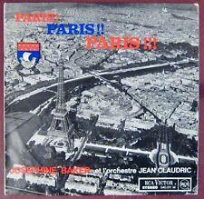 Tour Eiffell 33 tours Joséphine Baker Paris ! Paris !! Paris !!! 1963