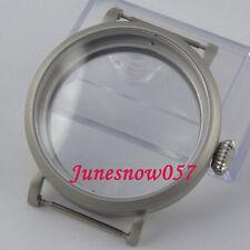 Fit ETA 6497 6498 movement parnis 46mm sandblast stainles steel watch case 33