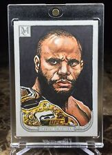 "2018 Topps UFC/Museum ~ DANIEL CORMIER (#1/1) ""CANVAS COLLECTION"" SKETCH CARD!!!"
