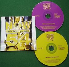 Now 54 Coldplay Mel C Oasis Blue Girls Aloud Turin Brakes Busted Tatu + CD x 2