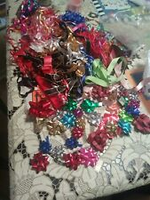 Lot Of 1980s Party Bows Ribbons Different Textures