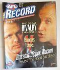 2001 AFL Football Record / Herald Sun Lift-Outs BRISBANE LIONS Premiers Carlton