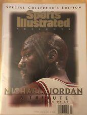 Michael Jordan Sports Illustrated Tribute Magazine Chicago Bulls NBA Excellent