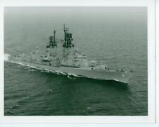 VINTAGE 5X4 PHOTO NAVY BOAT USS GUIDED MISSILE FRIGATE